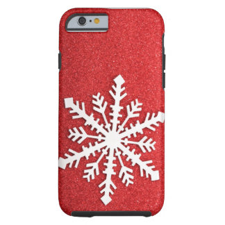 Holiday Sparkles Snowflake iPhone 6 case Tough iPhone 6 Case
