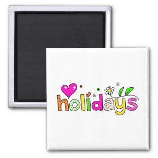 holidays magnet
