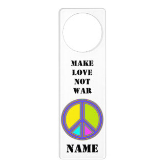 holiES - colorful PEACE sign + your ideas