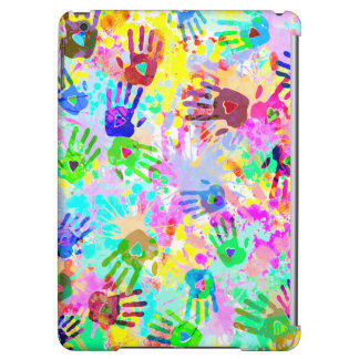 holiES - hands splashes colored grunge pattern 2