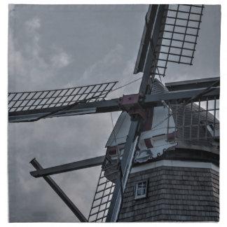 Holland MI Windmill Cloth Napkins