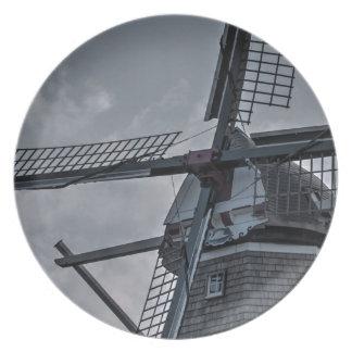 Holland MI Windmill Plates