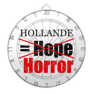 Hollande Not Hope = Horror - Dartboard
