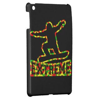 HOLLOW EXTREME SNOWBOARDER IN RGY CAMO iPad MINI CASE