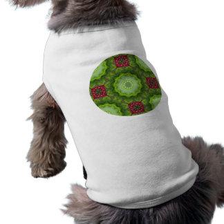 Holly Berry Kaleidoscopic Mandala Design Shirt