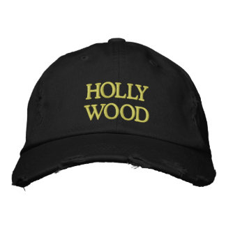 HOLLYWOOD EMBROIDERED HATS