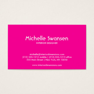 HOLLYWOOD GLAM Business Card