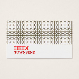 Hollywood Glamour No. 3 Business Card