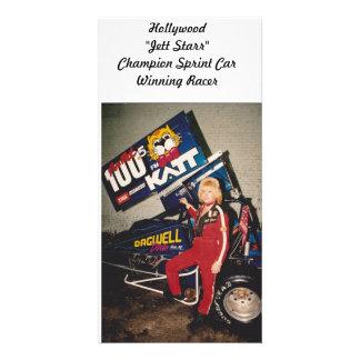 "Hollywood""Jett Starr""Champion... Card"