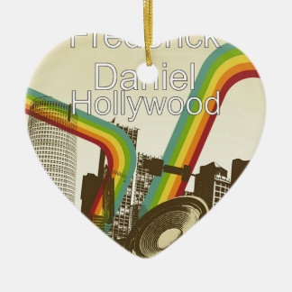 Hollywood Merchandise Christmas Ornament