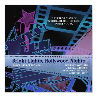 Hollywood Prom Invitations