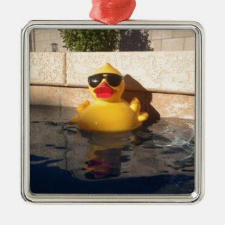 Hollywood Rubber Duckie Christmas Ornament