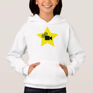 Hollywood star Girls Hanes hoodie