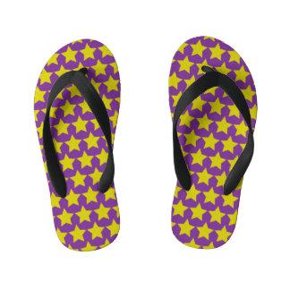 Hollywood star kids flip flops (purple) thongs