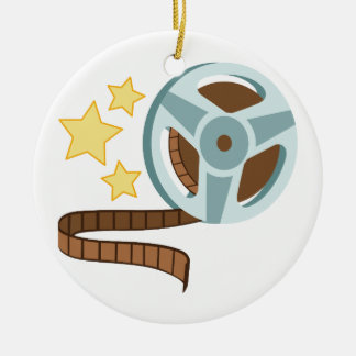 Hollywood Tape Roll Christmas Ornament