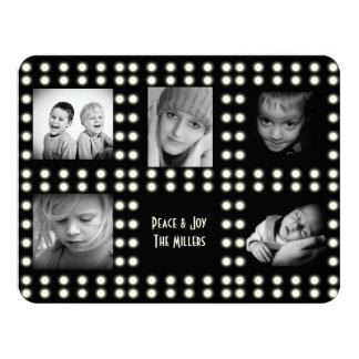 Hollywood Theme Holiday Card Family Photos 11 Cm X 14 Cm Invitation Card