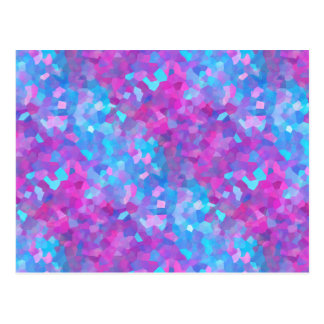 Holographic Sparkles Pattern Postcard
