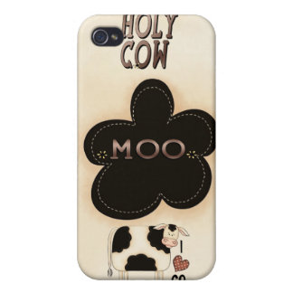 Holy Cow Moo Speck® Fitted™ Case iPhone 4 iPhone 4 Covers