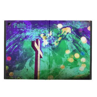 Holy Cross Purple Sparkle iPad Air Folio iPad Air Cases