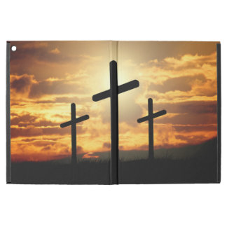 "Holy Crosses In the Sunset iPad Pro 12.9"" Case"