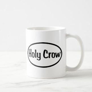 Holy Crow Oval Coffee Mug