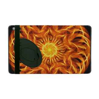 Holy Fire Mandala iPad Case