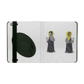 Holy iPad 2 3 4 Air Mini Case w/ Kickstand iPad Folio Case