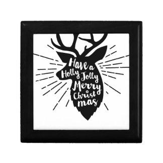 holy joly reindeer gift box