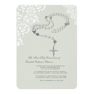 Holy Rosary Religious Invitation