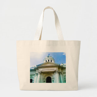 Holy sanctuary (church). large tote bag