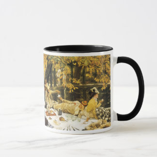 Holyday, the Picnic by James Tissot, Victorian Art Mug