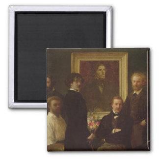 Homage to Delacroix, 1864 Magnet