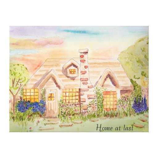 Home at Last Gallery Wrapped Canvas