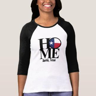 HOME Austin Texas Womens Longsleeve Shirt