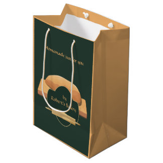 Home Baked Bread Bakery Icon Gift Bag