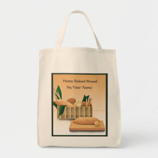 Home Baked Bread Grocery Tote Bag