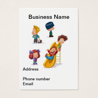 Home Based Child Care Business Card