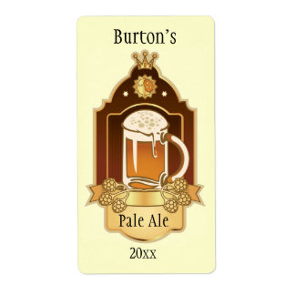 Home Brewed Beer Labels