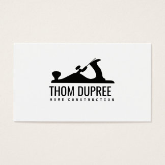 Home Construction and Carpentry Wood Plane Logo