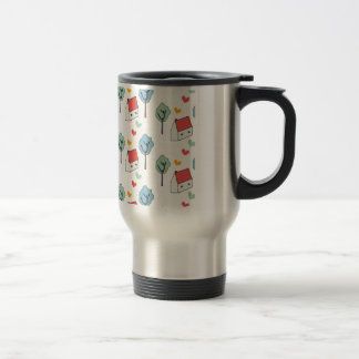 Home is… stainless steel travel mug