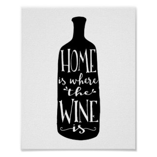 Home Is Where the Wine Is | Art Print