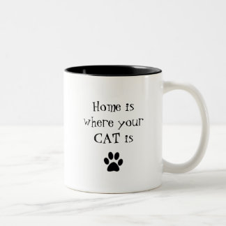 Home is where your CAT is Mug