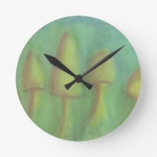 Home of the Meadow Faeries Round Clock