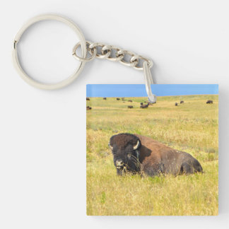 Home On The Range Keychain