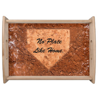 Home Plate Tray Serving Platter