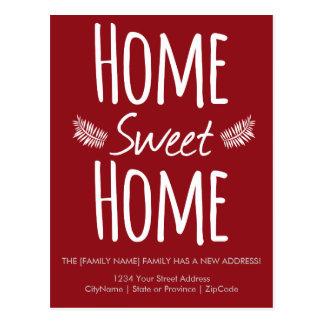 Home Sweet Home Change of Address Postcard