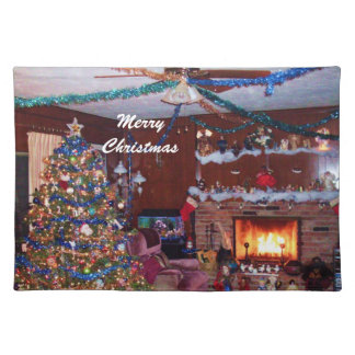 HOME SWEET HOME CHRISTMAS placematt Placemat