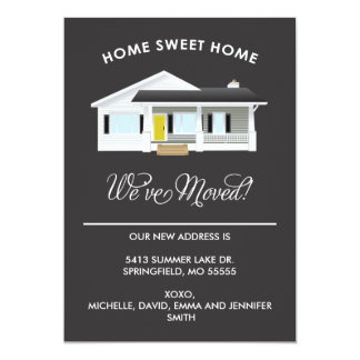 HOME SWEET HOME | MOVING ANNOUNCEMENT