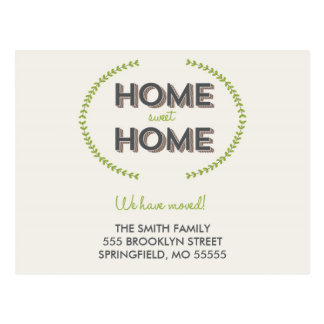 HOME SWEET HOME | MOVING ANNOUNCEMENT POSTCARD