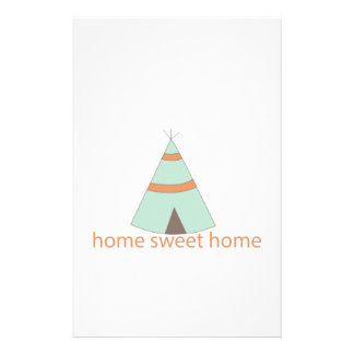 Home Sweet Home Stationery